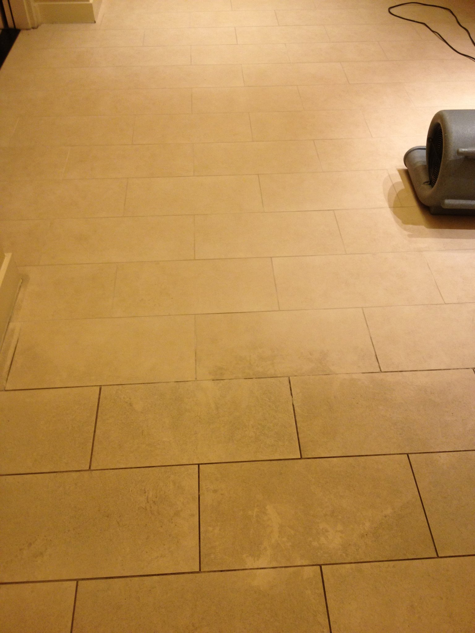 before and after grout cleaning in los angeles ca