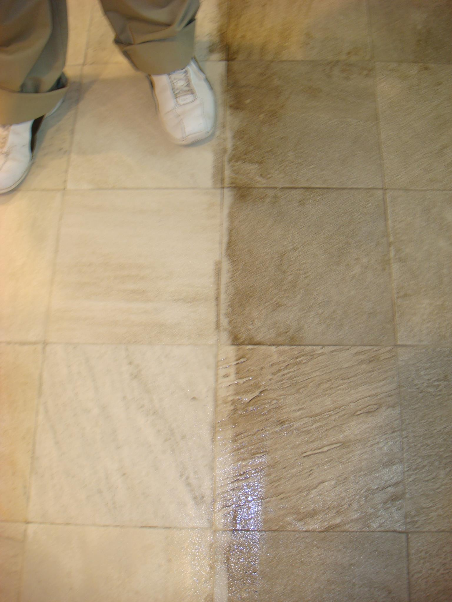before after tile cleaning los angeles